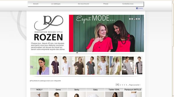 rozen-creation cantin: repositionnement et e-commerce