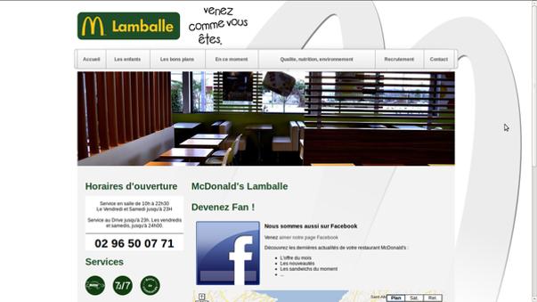 mcdo lamballe: gerer sa communication locale