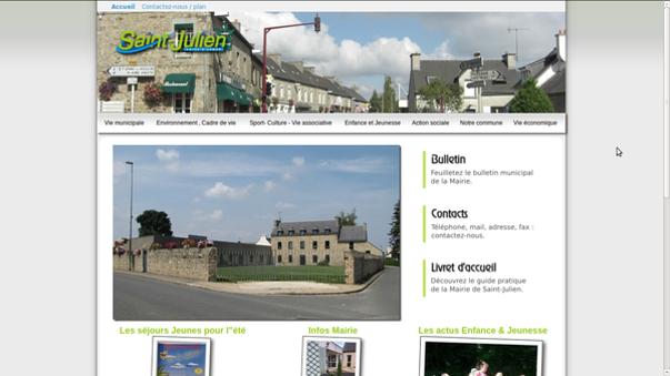 le site de la mairie de saint-julien -cotes d armor