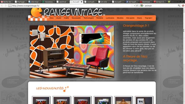 un antiquaire en ligne : orangevintage.fr