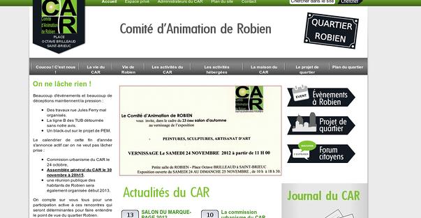 le nouveau site editorial du quartier robien, a saint-brieuc