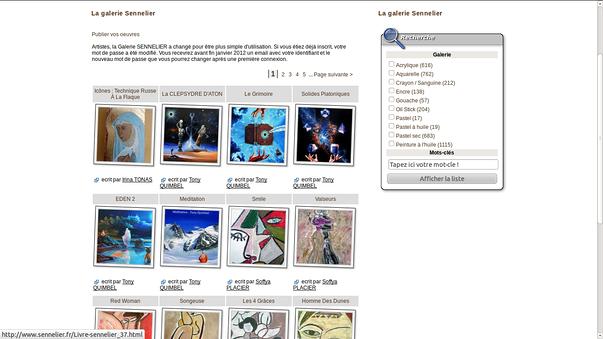 sennelier - max sauer saint-brieuc, pour creer son site internet