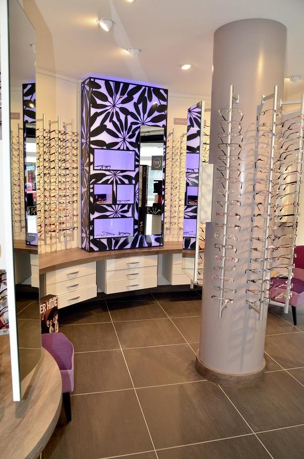photos pour le nouveau magasin d optique tanne