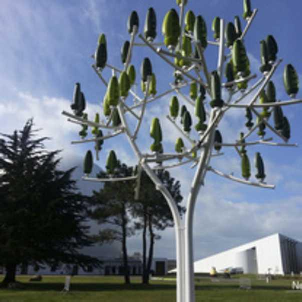 claudio colucci, designer de l arbre a vent, generateur d energie eolienne de la societe new wind