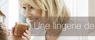 profitez des soldes de lingerie et linge de maison sur la lingere.fr